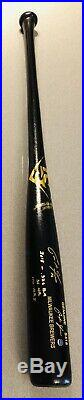 Christian Yelich Brewers MVP Signed Game Model Autographed Baseball Bat STEINER