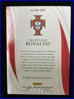 Cristiano Ronaldo /25 Auto 2018-19 Panini Immaculate. A great card, PSA ready