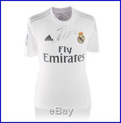 Cristiano Ronaldo Signed Shirt Real Madrid 2015/2016 Autograph Jersey