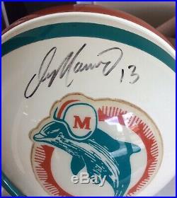 DAN MARINO Miami Dolphins Signed Riddell Proline Full Size Helmet Autograph UDA