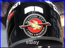 Dale Earnhardt Sr Autograph/Signed Authentic RACE WORN helmet Coca Cola 600 1999