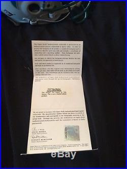 Dan Marino Dolphins Helmet Authentic Proline F/S Autographed Signed UDA COA HOLO