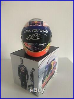 Daniel Ricciardo Signed 1/2 Scale Helmet F1