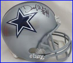 Demarcus Ware Autographed Signed Cowboys Full Size Replica Helmet Beckett 131319