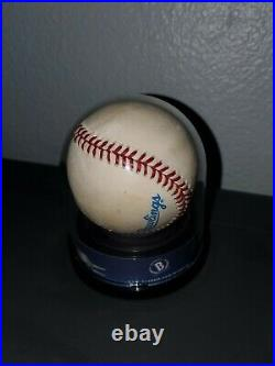 Derek Jeter Bas Encapsulated Signed Rawlings Mlb Baseball Autograph Auto Yankees