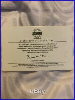 Derek Jeter Signed Auto Autograph Framed 16x20 Hof Steiner Coa Yankees
