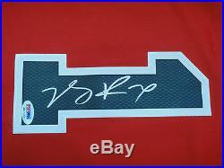 Derrick Rose Psa/dna Signed Adidas Swingman Chicago Bulls Jersey Autograph Mint