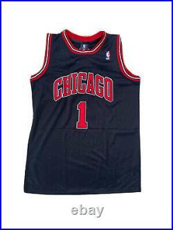 Derrick Rose Signed Chicago Bulls (Home Black) Jersey PSA/DNA