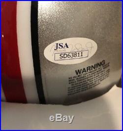Dwayne Haskins Signed Mini Helmet OSU Ohio State JSA Rookie Auto COA RARE
