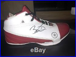 Dwyane Wade Signed Converse Shoe Autographed Signature Shoe