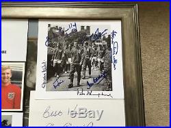 England 1966 Full Squad Signed Bobby Moore