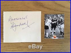 England 1966 Signed Bobby Moore