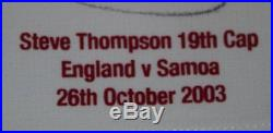 England Match Worn & Signed 2003 Rugby World Cup Jersey World Champions