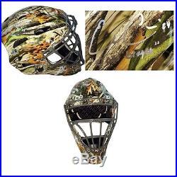 Evan Gattis Autographed/Signed Atlanta Braves Camouflage Catchers Mask Custom