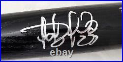 Fernando Tatis Jr. Autographed Signed Black Rawlings Bat Padres Beckett 179066