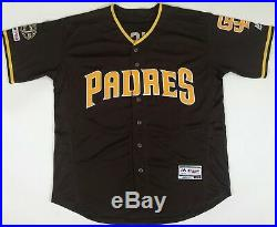 Fernando Tatis Jr. Signed San Diego Padres 50th Anniversary Brown Jersey JSA COA