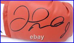Floyd Mayweather Jr. Autographed Signed Red Everlast Boxing Glove Rh Jsa 178296