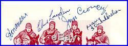 Four Horsemen Notre Dame Signed Page Miller Layden Crowley Stuhldreher PSA/DNA