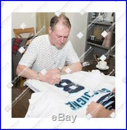 Framed Paul Gascoigne Signed Shirt England Euro 1996 Number 8 Autograph