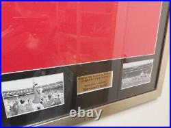 Geoff Hurst Signed England 1966 Replica Shirt Framed AFTAL RD