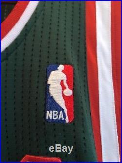 Giannis Antetokounmpo Signed Bucks REV30 Autograph NBA Auto Rookie Jersey GA COA