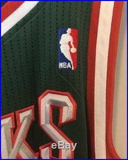 Giannis Antetokounmpo Signed Bucks REV30 Autographed NBA Auto Rookie Jersey JSA