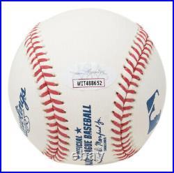 Goose Gossage Signed MLB Baseball Insc Saves & Strikeouts JSA