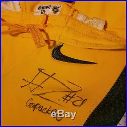 Ha Ha Clinton-dix Green Bay Packers Game Worn Autographed Signed Jersey Pants