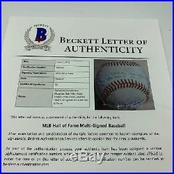 Hall Of Fame Multi Signed Baseball 23 Sigs Harmon Killebrew Stargell Beckett COA