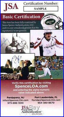 Hank Aaron Atlanta Braves Signed 8x10 715 Home Run Photo JSA Authenticated