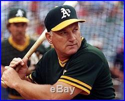 Harmon Killebrew 1981 Game Used Worn Signed Oakland Athletics Baseball Jersey