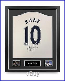 Harry Kane Signed Shirt Framed Spurs Tottenham Hotspur #10 Autograph Memorabilia