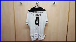 Hereford FC, Signed Rob Purdie, Wembley FA Vase Final Unworn'Replacement' Shirt