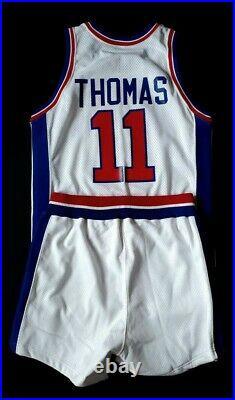 Isiah Thomas Game-worn Pistons Signed Jersey shorts team provenance