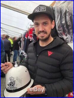 Isle of Man TT 2019 Signed Police Helmet by top Riders