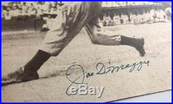 JOE DIMAGGIO signed 11x14 photo (YANKEES Autograph) PSA/DNA certified WOW