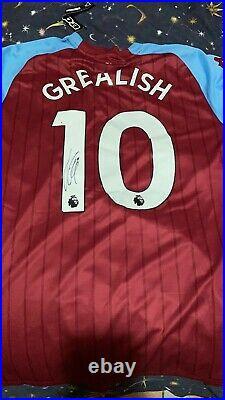 Jack Grealish Signed Shirt