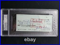 Jackie Robinson Psa/dna Graded 9 Mint Signed Check Certified Authentic Autograph