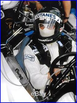 Jacques Laffite Race-worn & Signed Stand21 Ligier Formula 1 Driver Suit F1 1978