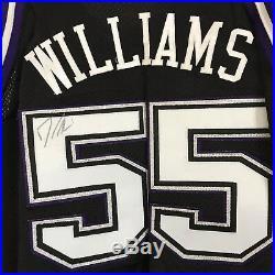 Jason Williams Game Worn Signed Rookie Jersey