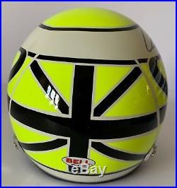 Jenson Button Hand Signed F1 1/2 Scale Helmet 2009 Brawn Very Rare