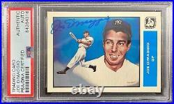 Joe Dimaggio auto signed card Sports Design Products Yankees PSA Encapsulated