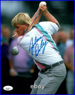 John Daly Signed 8x10 Photo Golf PGA JSA COA Autograph Cigarette in Mouth Golfer