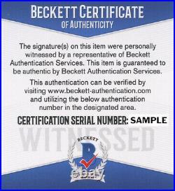 Josh Allen Signed Autographed Pro Style XL Custom Jersey Beckett Witnessed Coa
