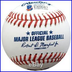 Juan Soto Autographed Signed Mlb Baseball Washington Nationals Beckett 138364