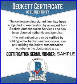 Justin Herbert Autographed Signed Oregon Green Speed Mini Helmet Beckett 161469
