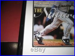 KEN GRIFFEY JR SIGNED AND FRAMED Sports Illustrated THE NATURAL UDA Upper Deck