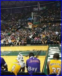 KOBE BRYANT Lakers Hardwood Classics AUTHENTIC AUTOGRAPHED Jersey Signed twice