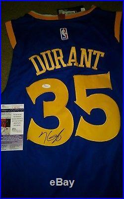 Kevin Durant Signed Autographed Golden State Warriors Jersey Jsa Coa U95162