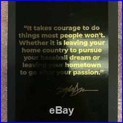 King Saladeen JP Money Bear #1 Courage 1 of 50 AUTOGRAPHED BNIB Signed